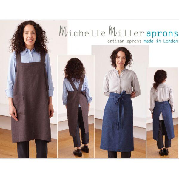 Michelle Miller aprons - Flyer