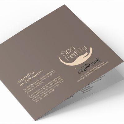 Spa Fertility promotional brochure