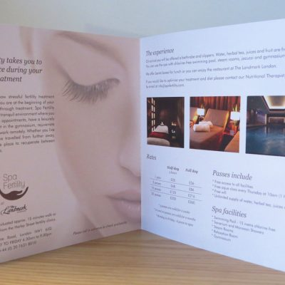Spa Fertility - Brochure