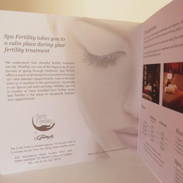 Spa Fertility - Brochure