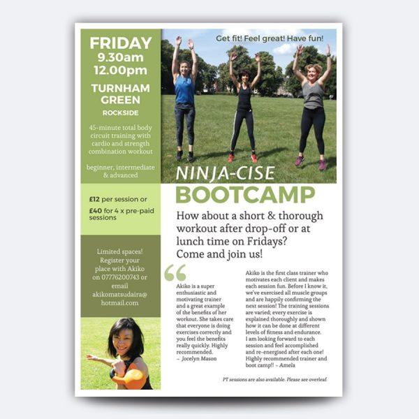 Ninja-cise Bootcamp