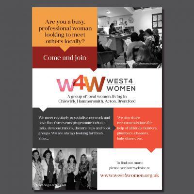 West4Women flyer